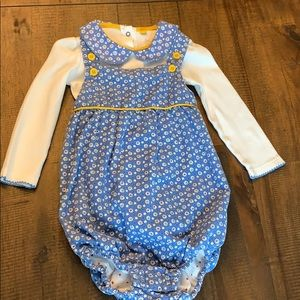 NWOT Baby Boden Onesie and Bubble set